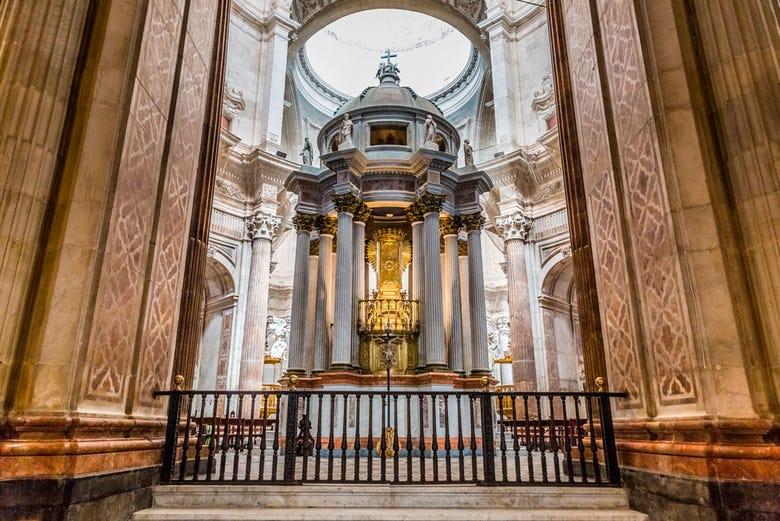 Visite guidée de la Cathédrale de Cadix et de la Tour Tavira