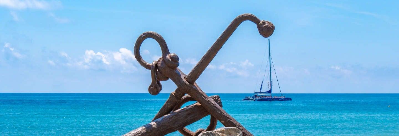 ErmidaMare de Déu de la Roca + Passeio de catamarã