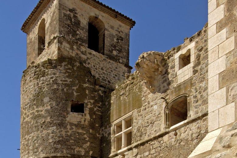 Ticket d'entrée pour le château de Garcimuñoz