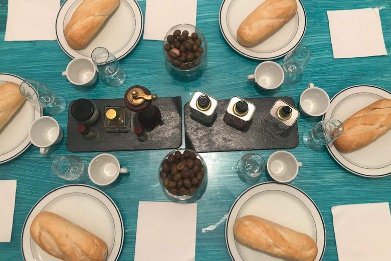 Dégustation d'huile d'olive + Petit-déjeuner andalou typique