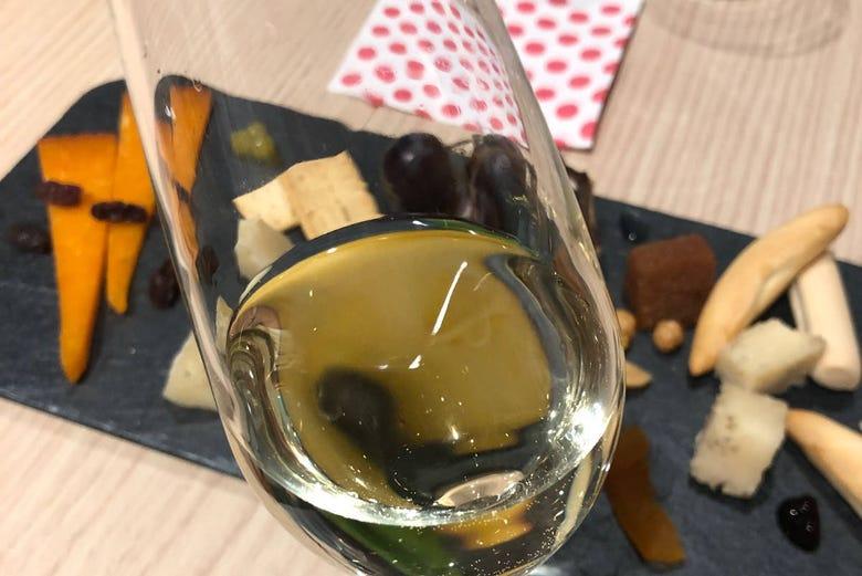 Dégustation de fromages et de vins à Cordoue