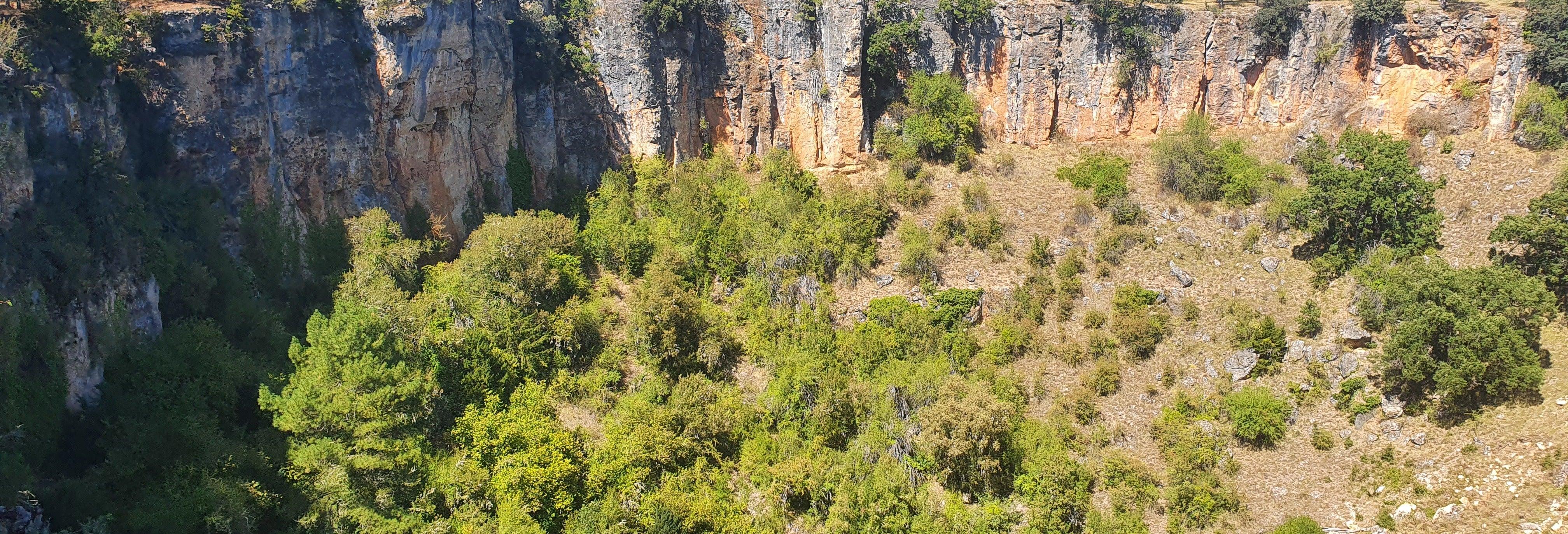 Excursão aos poços e lagoas de Cuenca