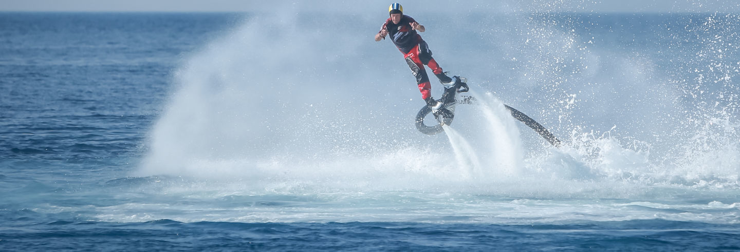 Flyboard in Denia