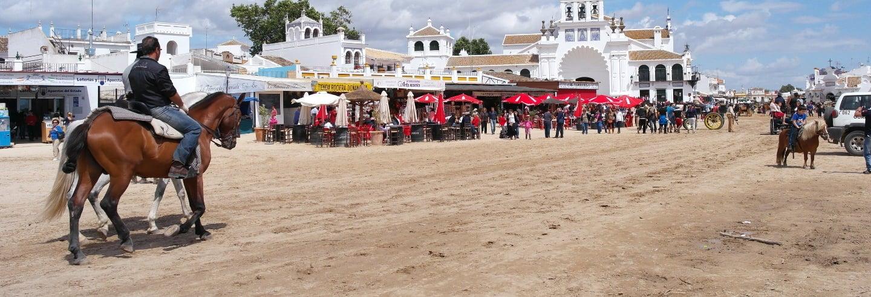 Paseo a caballo por Doñana y El Rocío