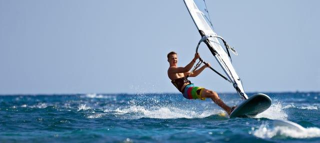 Cours de windsurf à L'Estartit