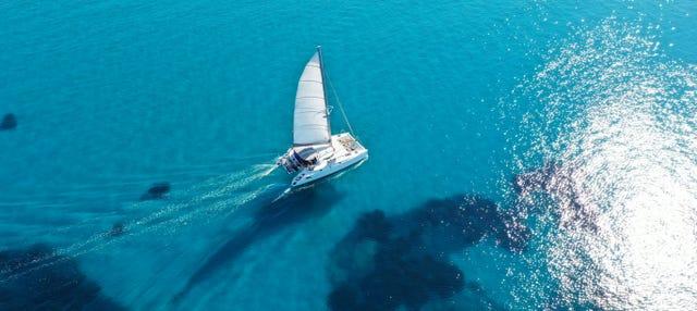 Balade en catamaran le long de la Costa Brava