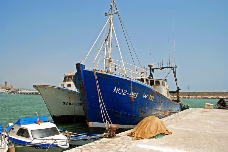 Visite du port d'Estepona