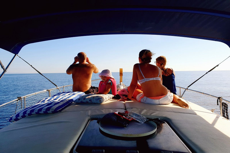Balade en bateau dans la baie d'Estepona