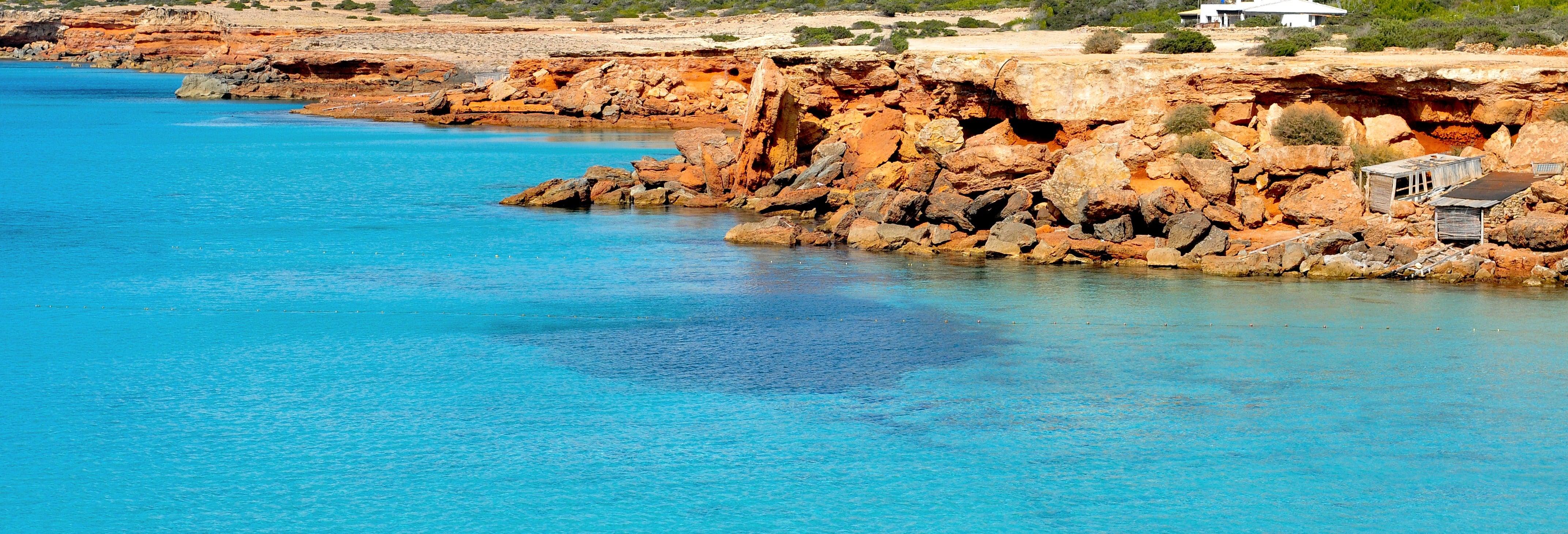 Giro delle cale di Formentera in catamarano