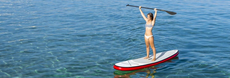 Tour en paddle surf por Foz