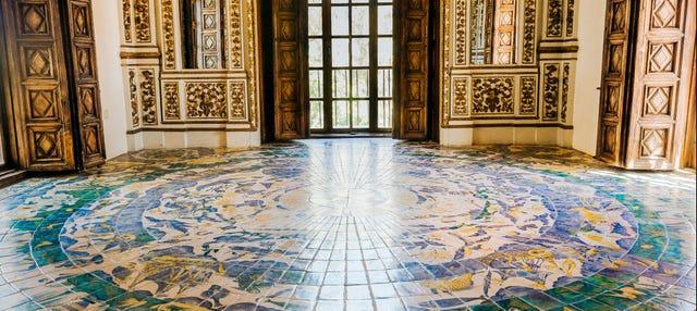 Entrada al Palacio Ducal de Los Borgia