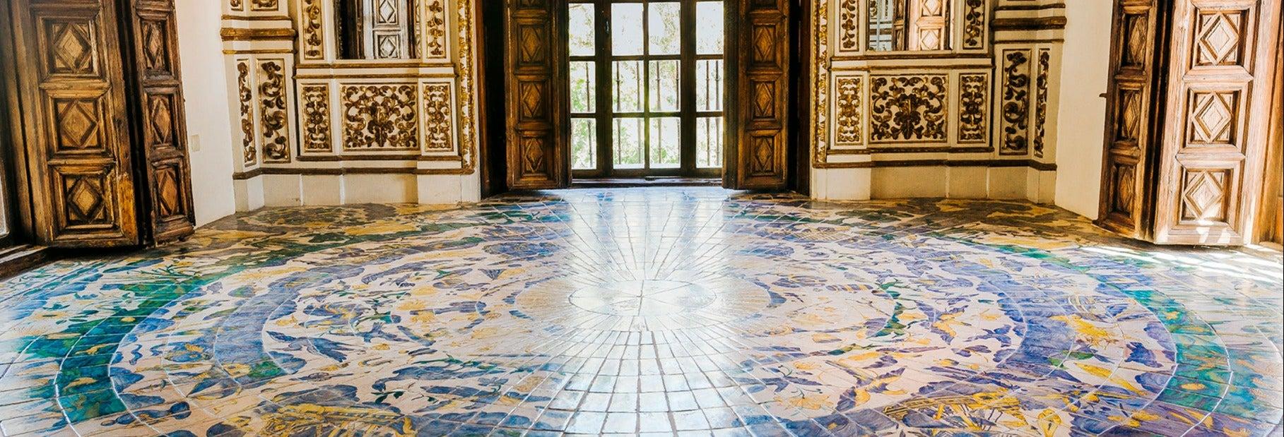 Ingresso do Palácio Ducal dos Borgia