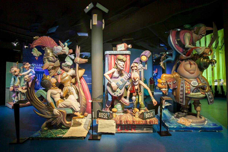 Billet pour le Musée des Fallas de Gandie