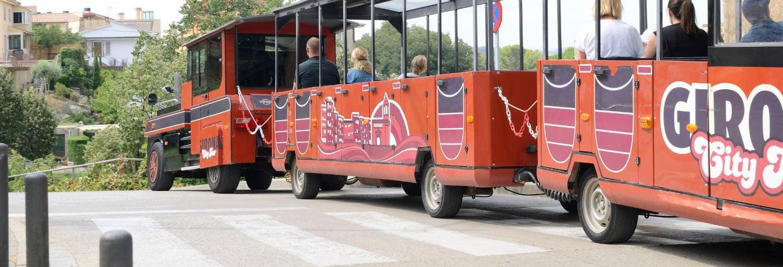 Tren turístico de Gerona