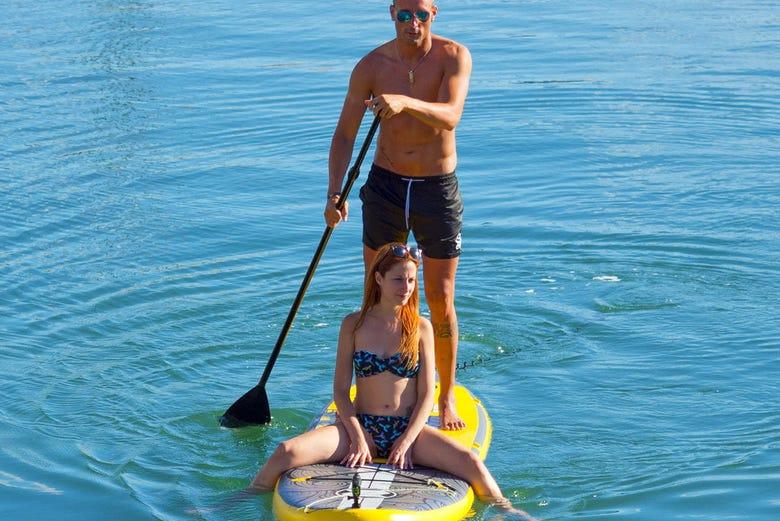 Location de paddle à Gijón