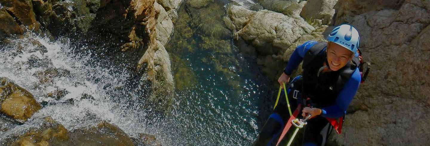 Canyoning à Grande Canarie