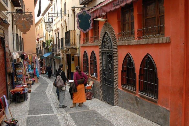 Visite d'Albaicín et de Sacromonte