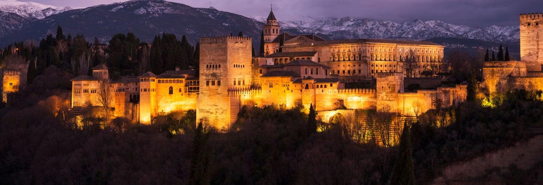 Tour nocturno por La Alhambra