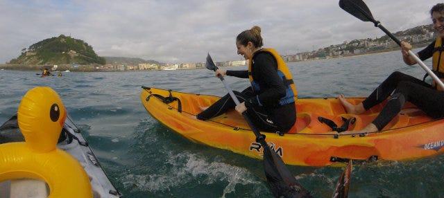 Tour en kayak por Hondarribia
