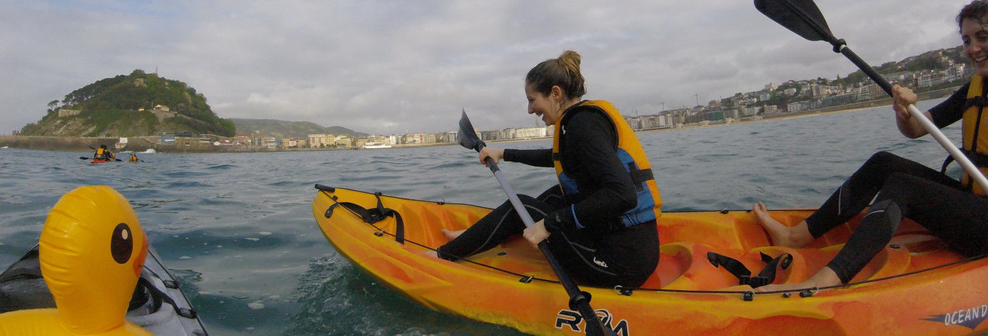 Tour en kayak por Hondarribia