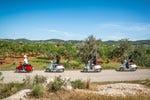 Tour de vespa por Ibiza