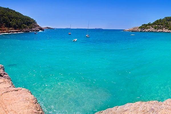 Cala Salada Ibiza Mapa.Cala Salada E Cala Saladeta Duas Das Praias Mais Bonitas