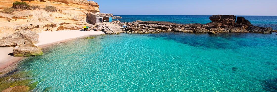 Les plages et les criques de Formentera