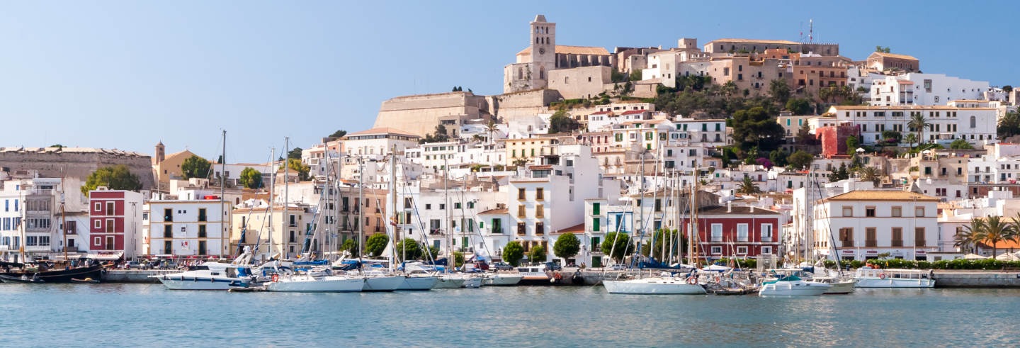 Tour privado pela capital de Ibiza