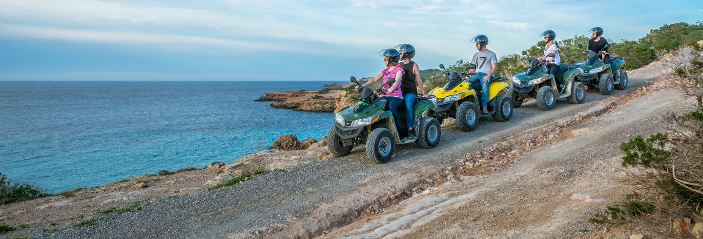 Tour in quad di Ibiza