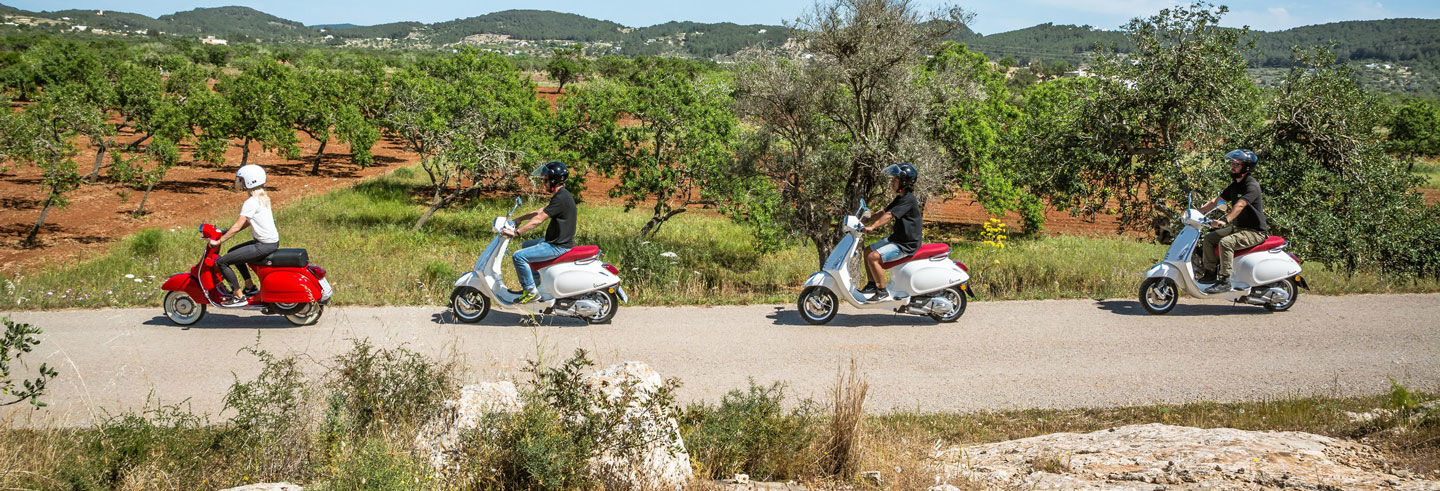 Tour in Vespa di Ibiza