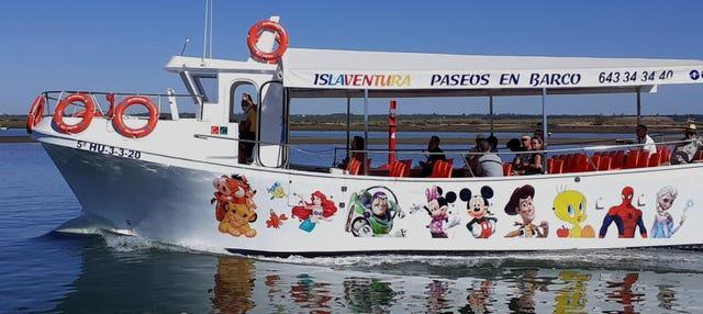Paseo en barco por Isla Cristina