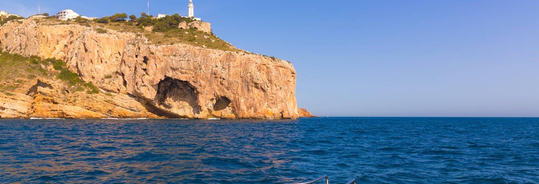Paseo en barco por Jávea