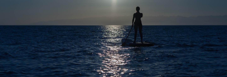 Tour nocturno en paddle surf