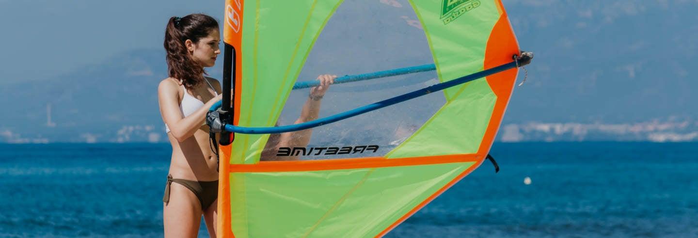 Curso de windsurf en La Ametlla de Mar