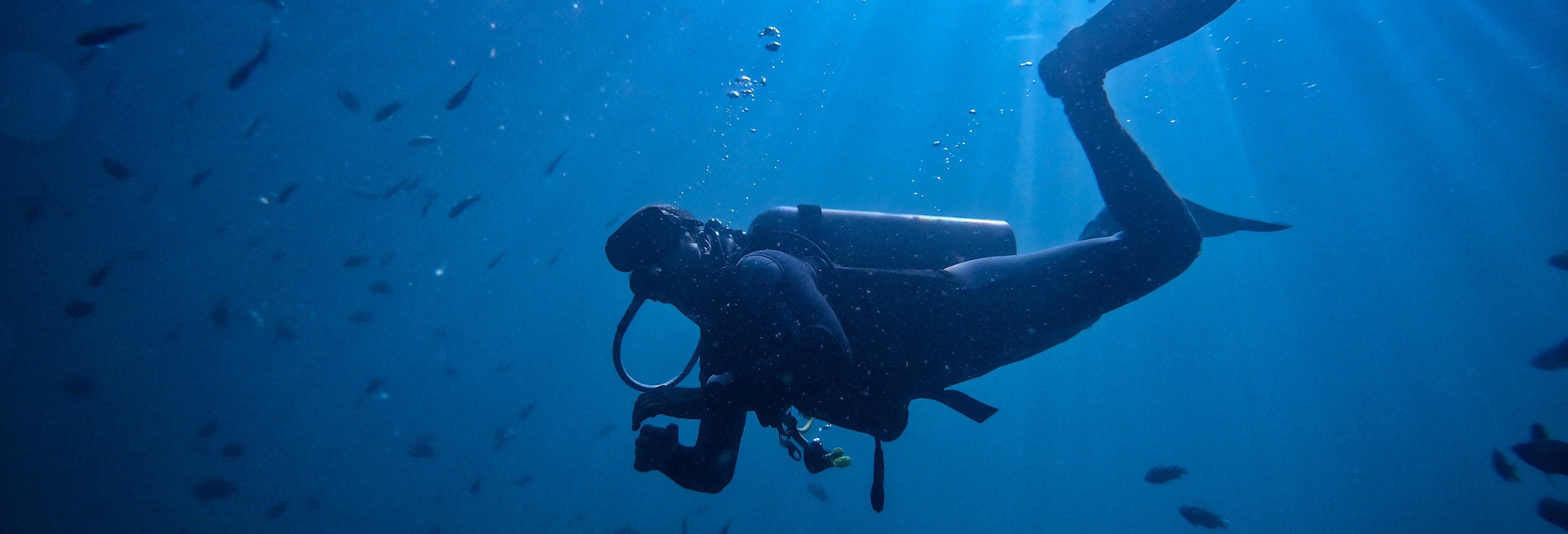 Bautismo de buceo en Cabo Tiñoso