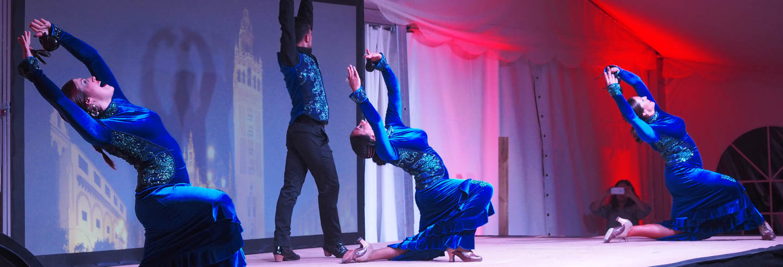 Espectáculo ecuestre y flamenco en Cambrils