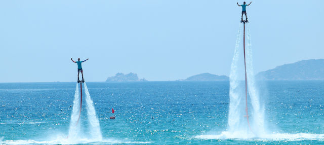 Flyboard a Lanzarote