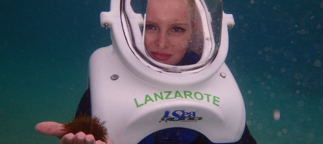 Sea Trek en Lanzarote