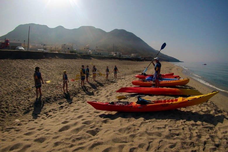 Kayak et snorkeling à Cabo de Gata