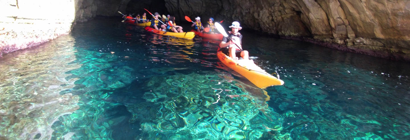 Kayak and Snorkel at Cabo de Gata