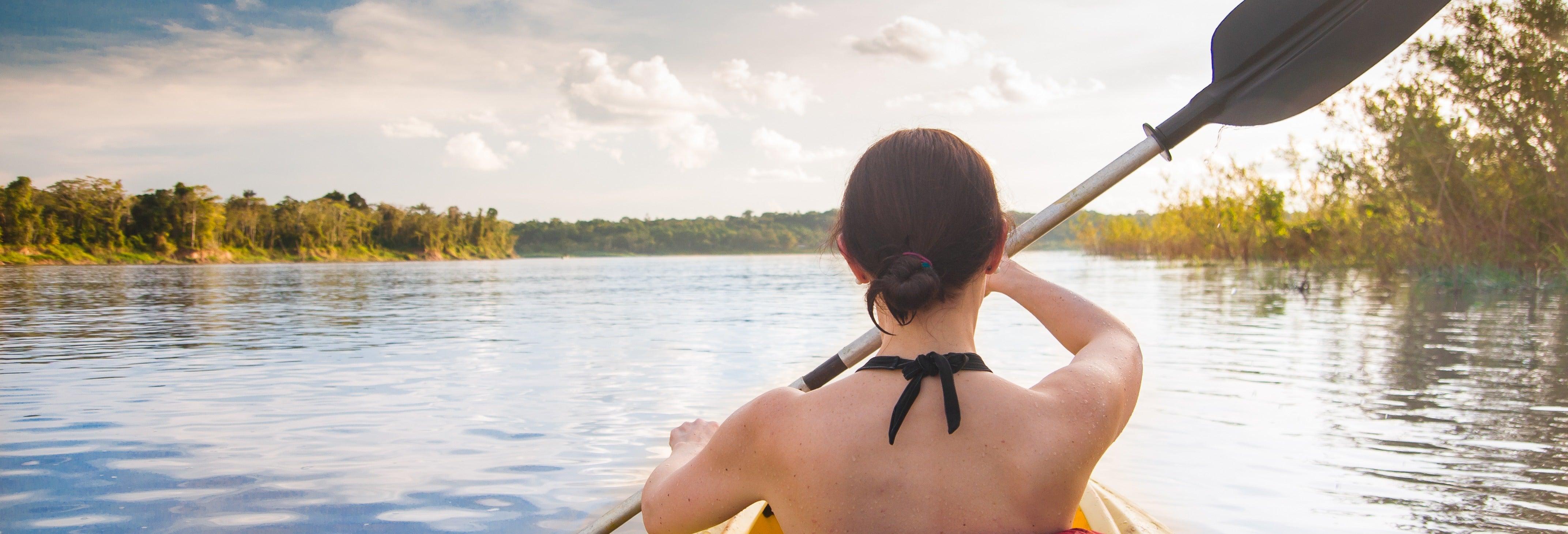 Tour en kayak por el río Palmones