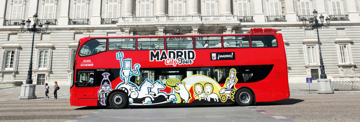 Madrid Hop On Hop Off Bus Tour
