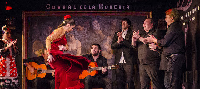 Show flamenco en El Corral de la Morería