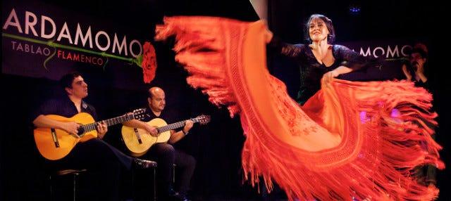 Show flamenco en el tablao Cardamomo