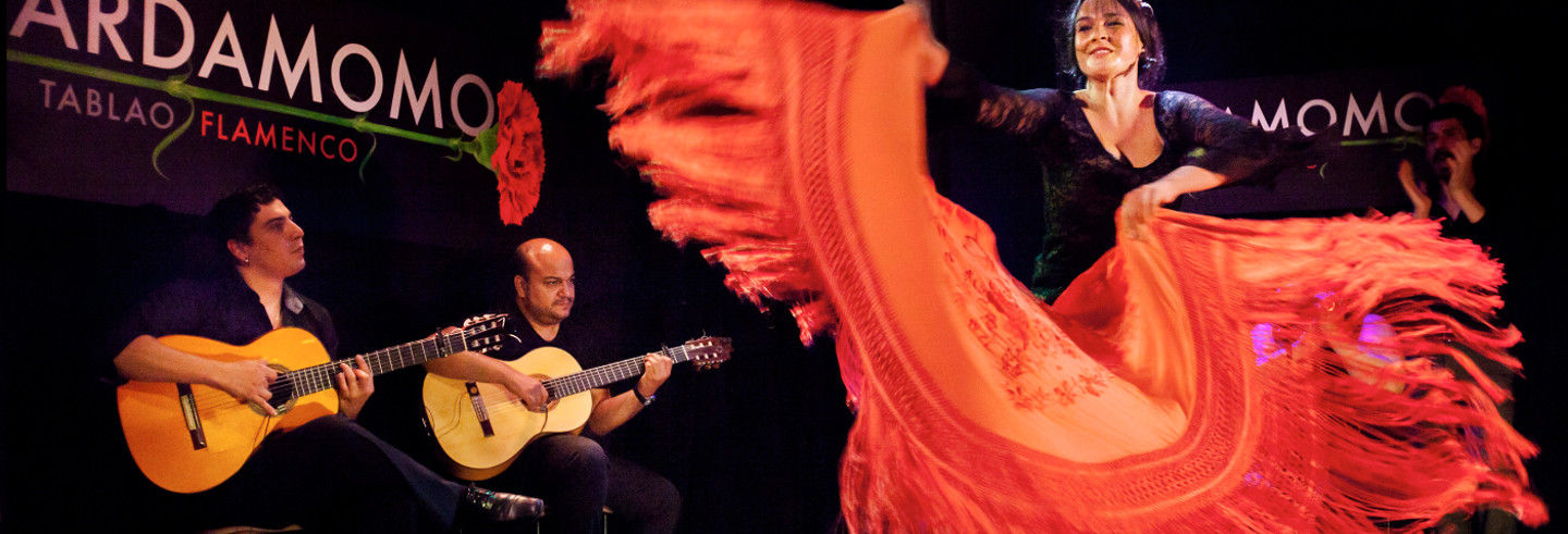 Spectacle de flamenco au tablao Cardamomo