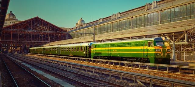 Excursión al Escorial en el tren de Felipe II