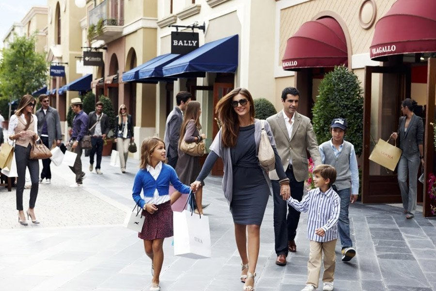 Excursion shopping à Las Rozas Village