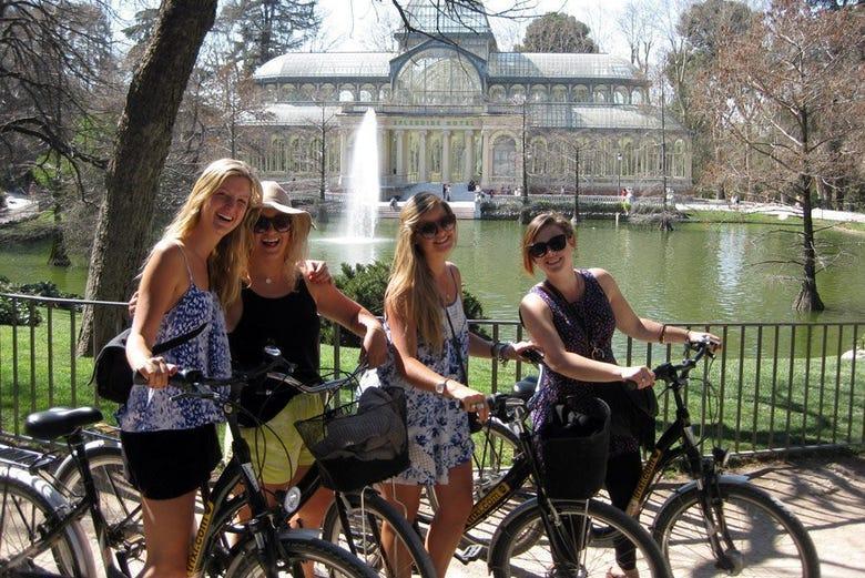 Madrid à votre rythme à vélo