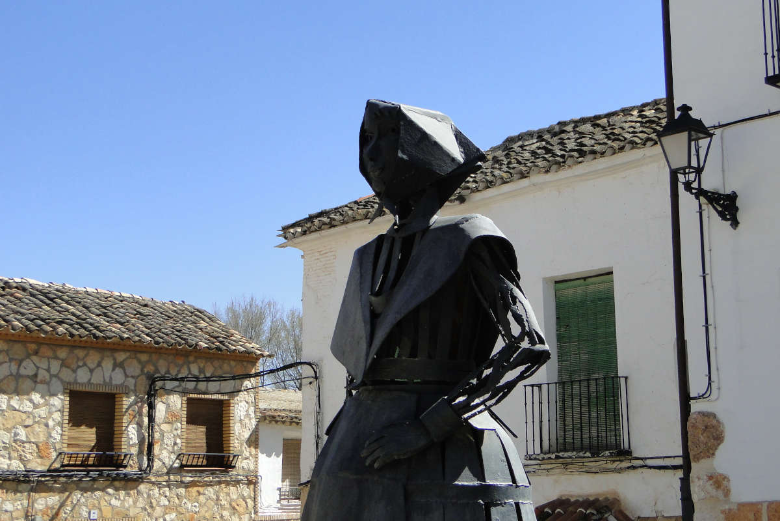 Route de Don Quichotte dans la région de la Manche