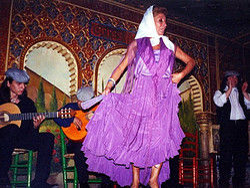 Tablao Flamenco Villa Rosa Madrid Espagne